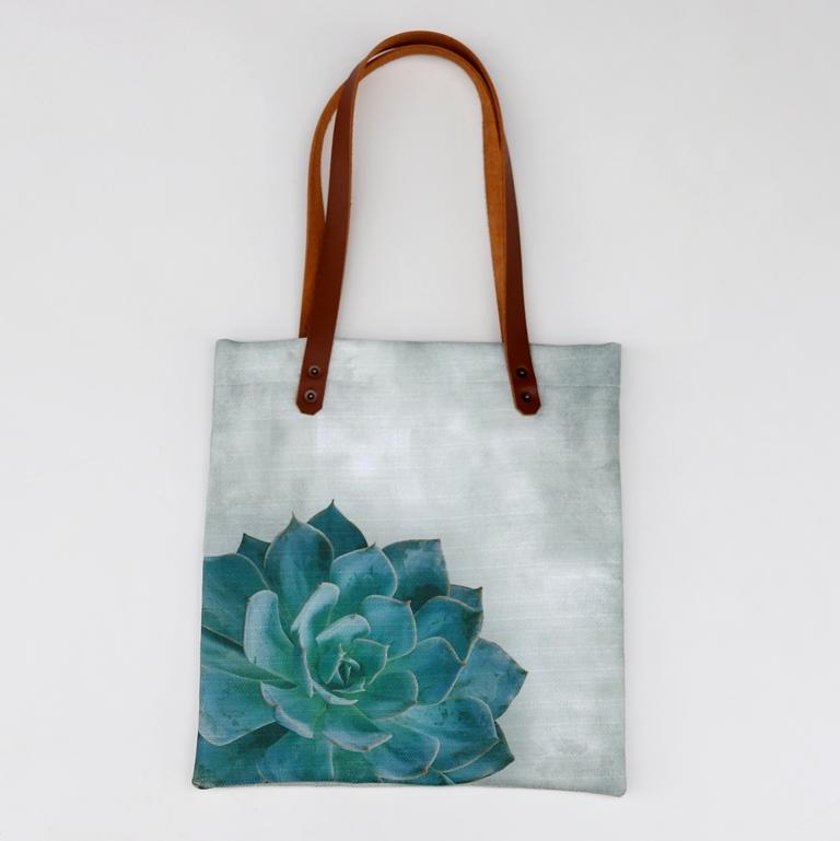 0e4553247e Printed Tote Bag – Succulent – Buzuci Online Store