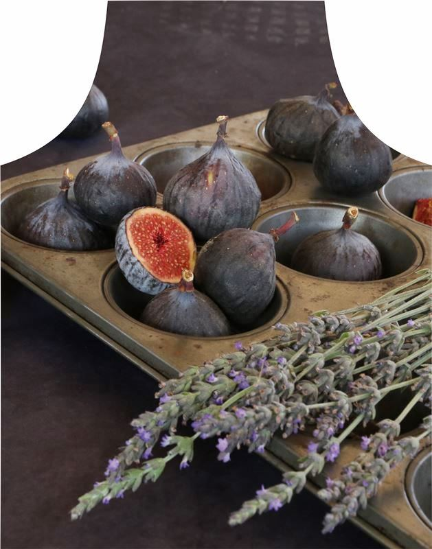 Apron Figs in muffen pan